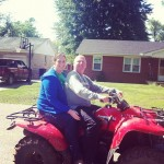 Four-wheeling on Mother's Day
